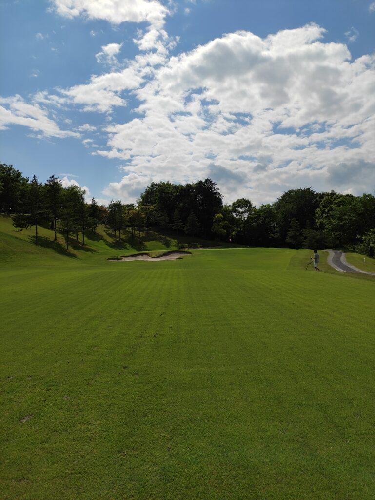 ゴルフ気持ちよい天気